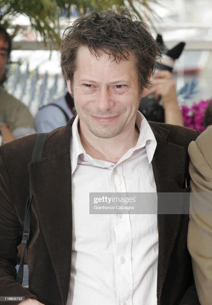 Mathieu Amalric during 2007 Cannes Film Festival - Le Scaphandre et le Papillon (The Diving Bell and the Butterfly) Photocall at Palais des Festivals in Cannes, France.