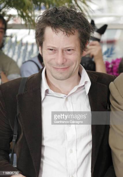 Mathieu Amalric during 2007 Cannes Film Festival Le Scaphandre et le Papillon Photocall at Palais des Festivals in Cannes France