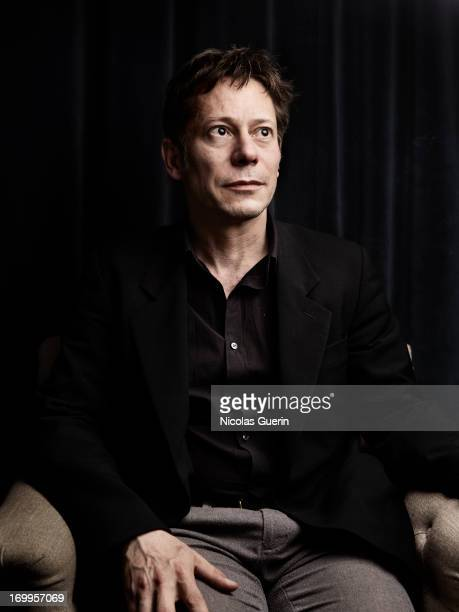 Mathieu Amalric is photographed for Self Assignment on May 20 2013 in Cannes France