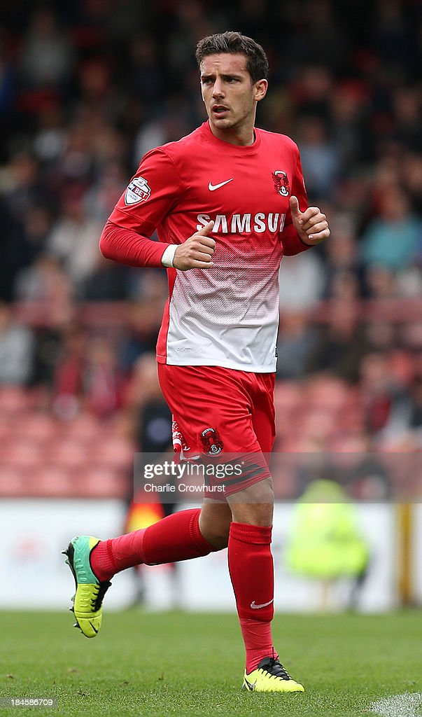 Mathieu Baudry of Leyton Orient during the Sky Bet League One match between Leyton Orient and MK Dons at The Matchroom Stadium on October 12, 2013 in London, England.
