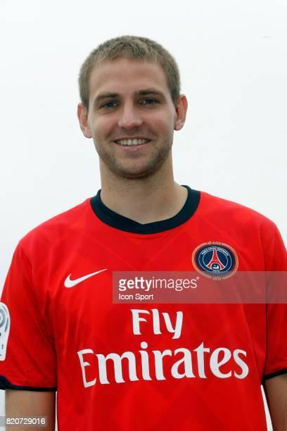 Mathieu BODMER Nouvelle recrue du PSG Camp des Loges
