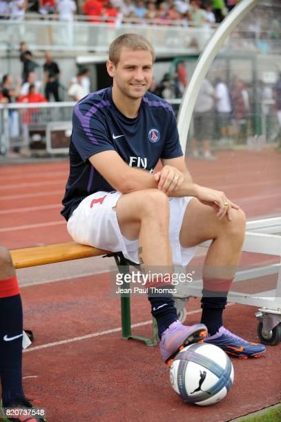 Mathieu BODMER PSG / Sporting Portugal Match Amical Evian