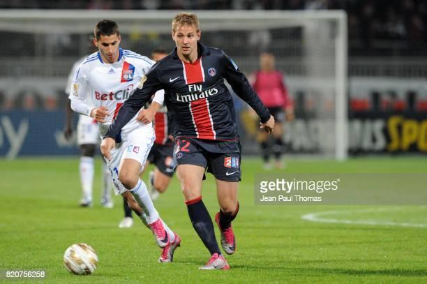 Mathieu BODMER Lyon / PSG 8eme Finale Coupe de la Ligue