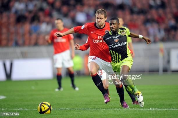 Mathieu BODMER / Arnold MVUEMBA Paris Saint germain / Lorient 29e journee Ligue 1