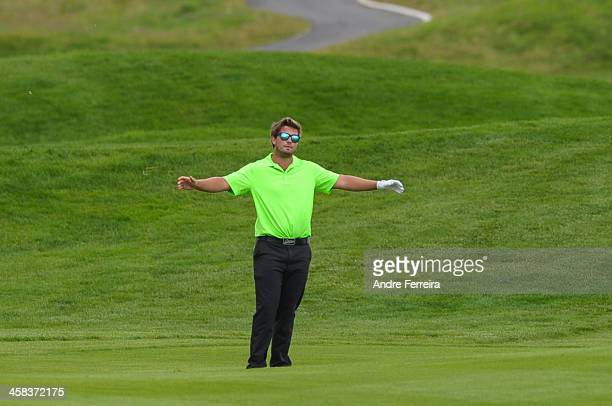 Mathieu Decottignies Lafon looks dejected during the Open de France on July 2 2016 in Guyancourt France
