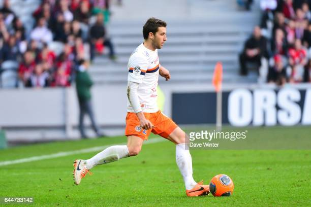 Mathieu DEPLAGNE Lille / Montpellier 28e journee Ligue 1 Photo Dave Winter / Icon Sport