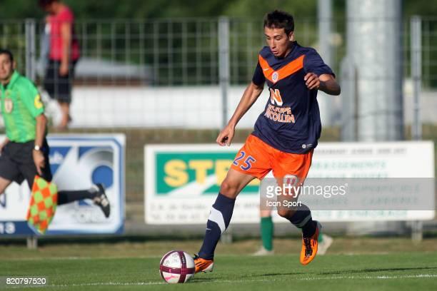 Mathieu DEPLAGNE Montpellier / Selection Lozere Meze Match Amical Preparation Ligue 1 2011/2012