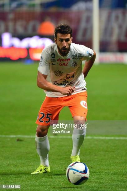 Mathieu DEPLAGNE Troyes / Montpellier 4eme journee de Ligue 1 Photo Dave Winter / Icon Sport