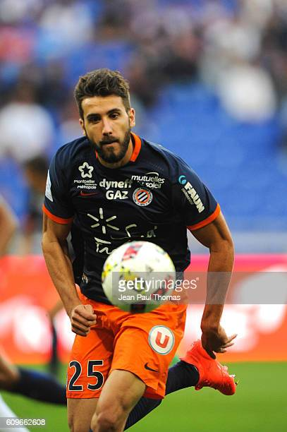 Mathieu DEPLAGNE of Lyon during the French Ligue 1 game between Olympique Lyonnais and Montpellier Herault at Stade de Gerland on September 21 2016...