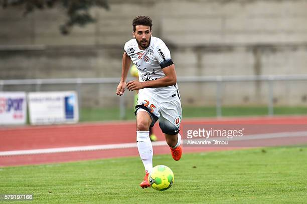 Mathieu Deplagne of Montpellier during the Pre season friendly match between Montpellier Herault Sc and Clermont Foot on July 22 2016 in Millau France