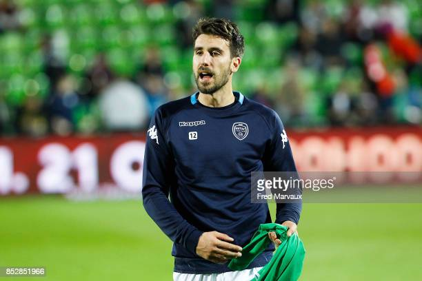 Mathieu Deplagne of Troyes during the Ligue 1 match between Metz and Troyes AC at on September 23 2017 in Metz France
