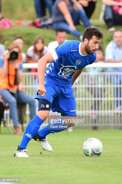 Mathieu Deplagne of Troyes during the pre season friendly match between RC Lens and ESTAC Troyes on July 12 2017 in Itancourt France