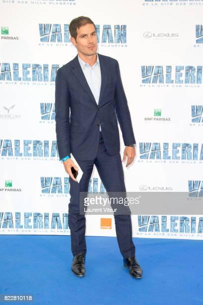 Mathieu Gallet attends 'Valerian et la Cite desMille Planetes' Paris Premiere at La Cite Du Cinema on July 25 2017 in SaintDenis France