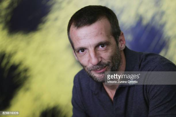 Mathieu Kassovitz attends 'Sparring' photocall during the 70th Locarno Film Festival on August 5 2017 in Locarno Switzerland