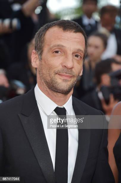 Mathieu Kassovitz attends the 70th Anniversary of the 70th annual Cannes Film Festival at Palais des Festivals on May 23 2017 in Cannes France