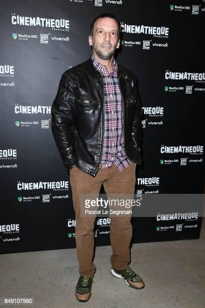 Mathieu Kassovitz attends the 'Happy End' Paris Premiere at la cinematheque on September 18 2017 in Paris France