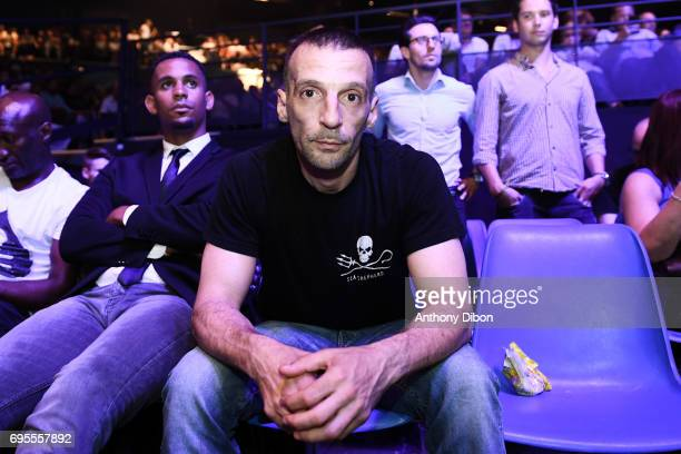 Mathieu Kassovitz during the boxing event la conquete at Palais des Sports on June 2 2017 in Paris France