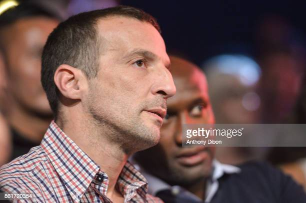 Mathieu Kassovitz during the boxing event La Conquete at Zenith de Paris on October 14 2017 in Paris France