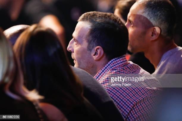 Mathieu Kassovitz french actor during the boxing event La Conquete at Zenith de Paris on October 14 2017 in Paris France