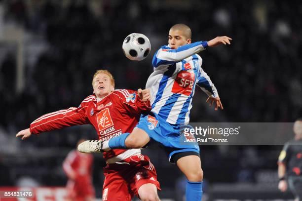 MAthieu ROBAIL / Sofiane FEGHOULI Dijon / Grenoble 8eme Finale de la Coupe de France 2008/2009