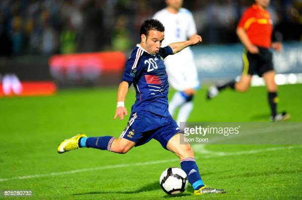 Mathieu Valbuena Bosnie Herzegovine / France Qualifications Euro 2012 Sarajevo