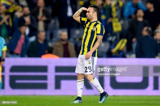 Mathieu Valbuena of Fenerbahce during the Turkish Super lig match between Fenerbahce v Kasmpasaspor at the #350ükrü Saraco#287lu stadion on December...