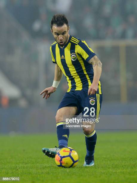Mathieu Valbuena of Fenerbahce during the Turkish Super lig match between Bursaspor v Fenerbahce at the Timsah Arena on December 8 2017 in Bursa...