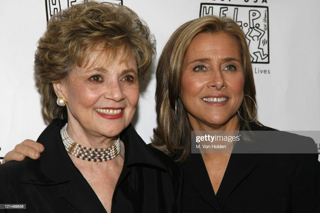 Mathilda Cuomo and Meredith Vieira during HELP USA's 20th Anniversary Tribute Awards Dinner at Gotham Hall in New York NY United States