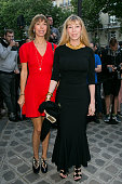 Mathilde Agostinelli and Victoire de Castellane attend the Vogue Foundation Gala 2016 at Palais Galliera on July 5 2016 in Paris France