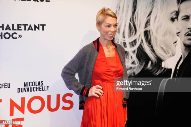 Mathilde Agostinelli attends the 'Tout nous separe' Premiere at UGC Cine Cite Bercy on October 19 2017 in Paris France