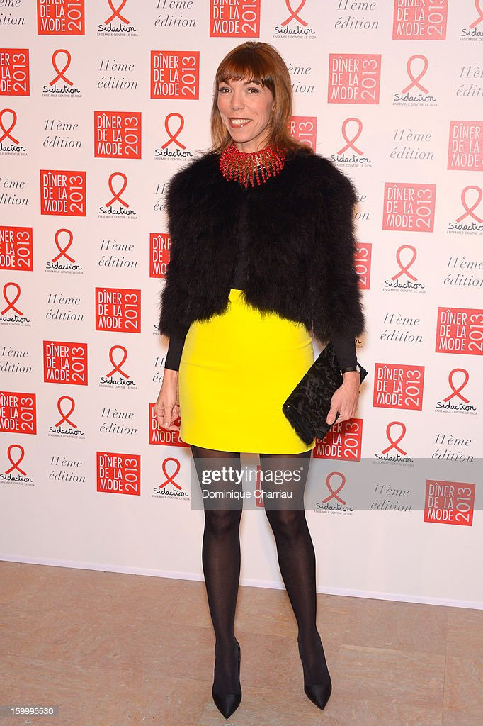 Mathilde de Castellane attends the Sidaction Gala Dinner 2013 at Pavillon d'Armenonville on January 24, 2013 in Paris, France.
