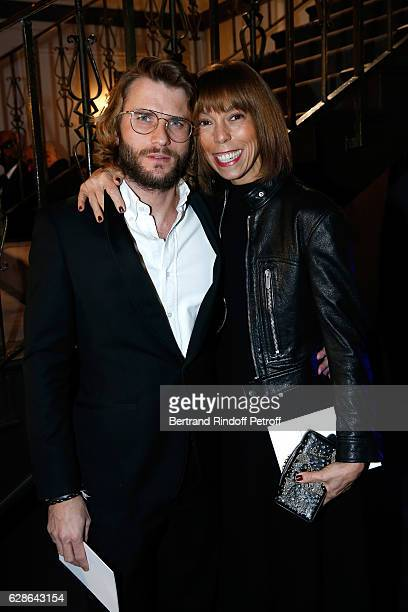 Mathilde Favier and guest attend the Annual Charity Dinner hosted by the AEM Association Children of the World for Rwanda at Pavillon Ledoyen on...