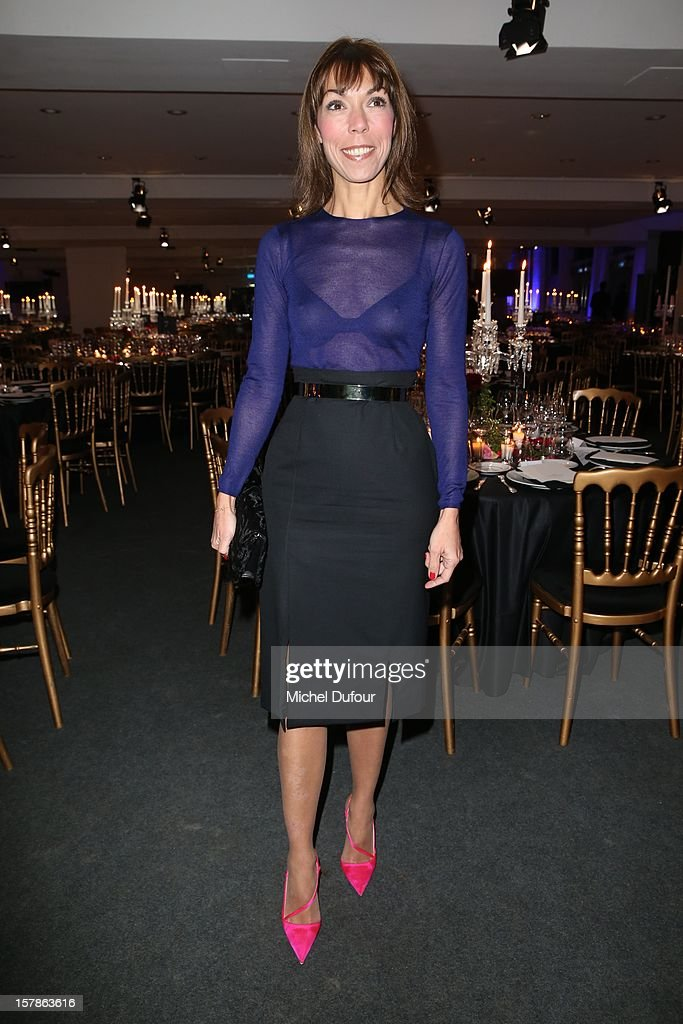 Mathilde Favier attends the Babeth Djian Hosts Dinner For Rwanda To The Benefit Of A.E.M. on December 6, 2012 in Paris, France.