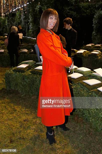 Mathilde Favier attends the Christian Dior Haute Couture Spring Summer 2017 show as part of Paris Fashion Week on January 23 2017 in Paris France