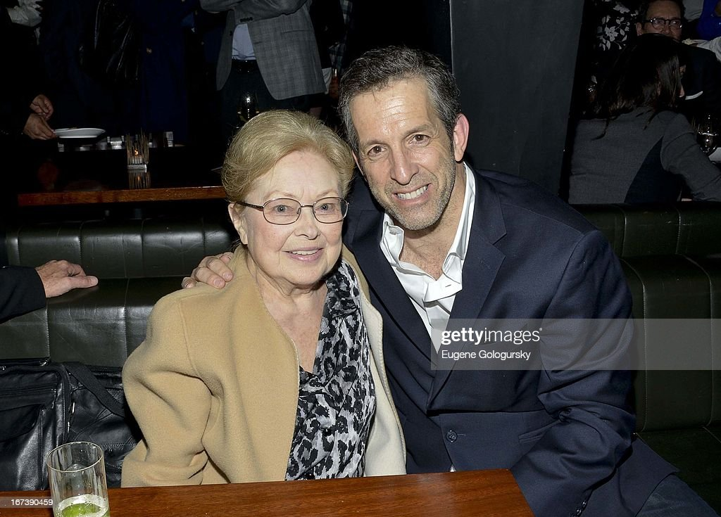Mathilde Krim and Kenneth Cole attend the after party for the screening of 'Battle of amfAR' during the 2013 Tribeca Film Festival at Colicchio & Sons on April 24, 2013 in New York City.