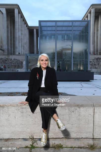 Mathilde Laurent attends OSNI 1 Opening Cocktail Hosted By Cartier at Palais De Tokyo on October 19 2017 in Paris France