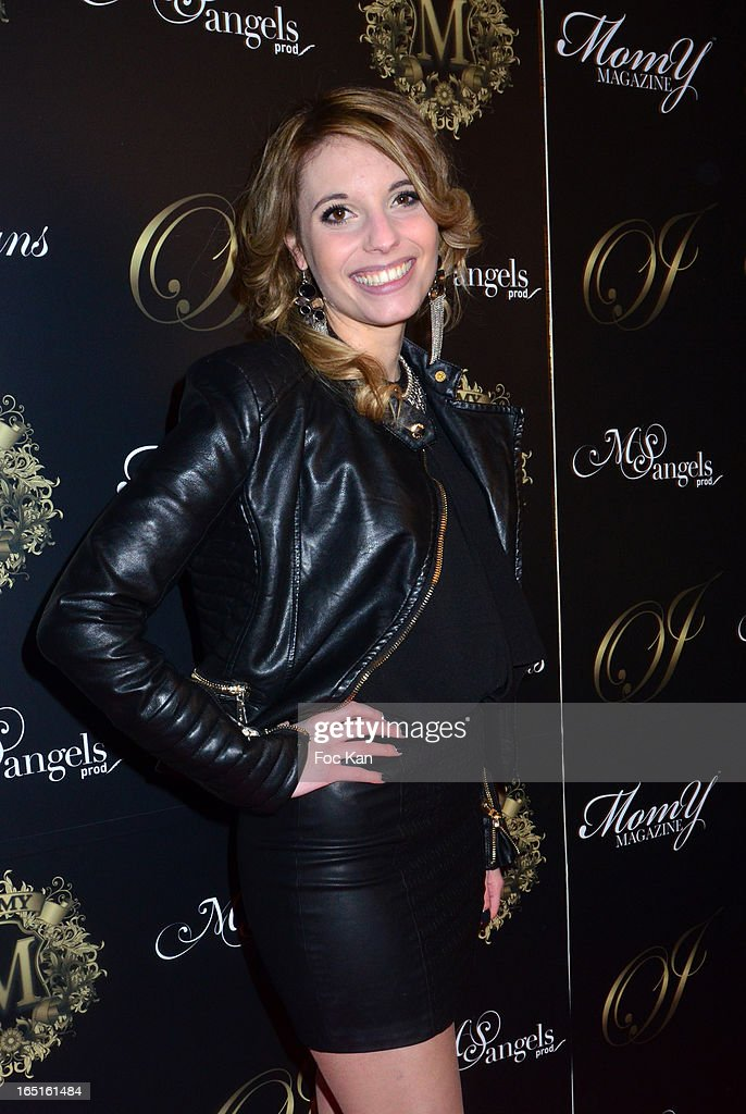 Mathilde Lompret from Star Academy attends the 'OmarJeans' Launch Party At The Pavillon Champs Elysees on March 31, 2013 in Paris, France.