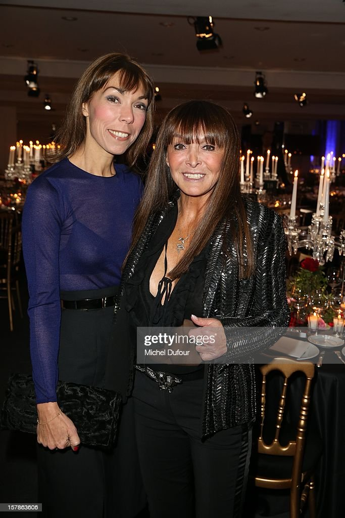 Mathilde Meyer and Babeth Djian attend the Babeth Djian Hosts Dinner For Rwanda To The Benefit Of A.E.M. on December 6, 2012 in Paris, France.