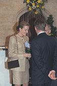 Mathilde of Belgium at the Town Hall in Saint Niklaas