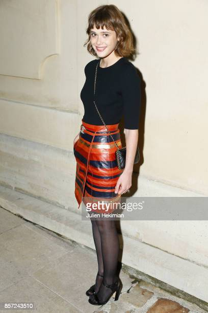 Mathilde Warnier attends the Chanel 'Code Coco' Watch Launch Party as part of the Paris Fashion Week Womenswear Spring/Summer 2018 on October 3 2017...