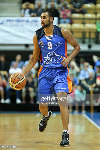 Mathis Keita of Gravelines during the Final match between Strasbourg and Gravelines Dunkerque at Tournament ProStars at Salle Arena Loire on...