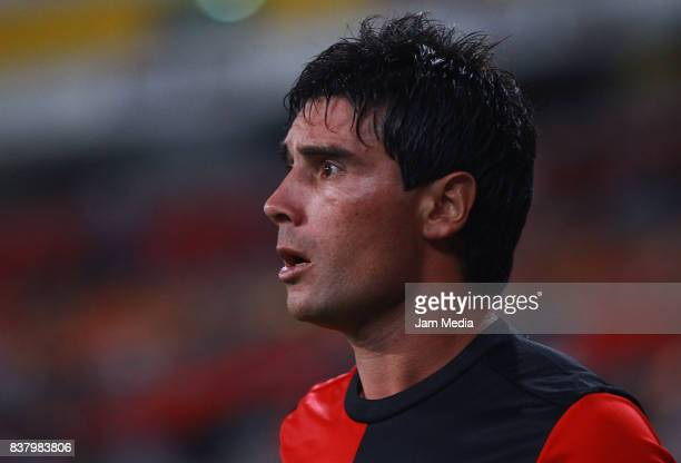 Matias Alustiza of Atlas looks on during the 6th round match between Atlas and Lobos BUAP as part of the Torneo Apertura 2017 Liga MX at Jalisco...