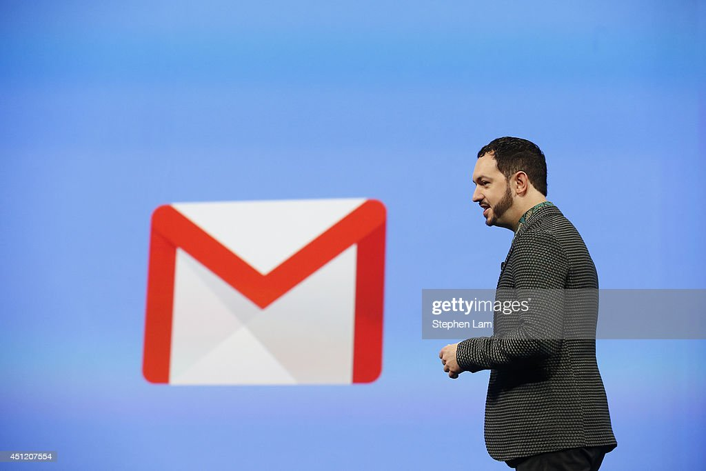 Matias Durante, Vice President, Design at Google, speaks on stage during the Google I/O Developers Conference at Moscone Center on June 25, 2014 in San Francisco, California. The seventh annual Google I/O Developers conference is expected to draw thousands through June 26.