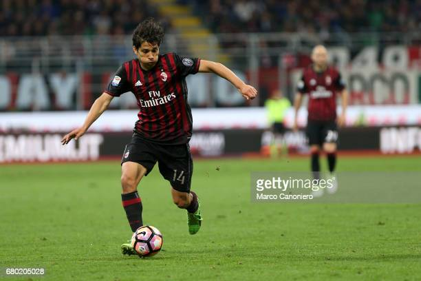 Matias Fernandez of Ac Milan in action during the Serie A match between Ac Milan and As Roma As Roma wins 41 over Ac Milan