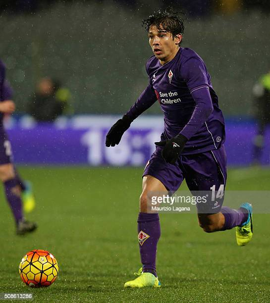 Matias Fernandez of Fiorentina during the Serie A match between ACF Fiorentina and Carpi FC at Stadio Artemio Franchi on February 3 2016 in Florence...