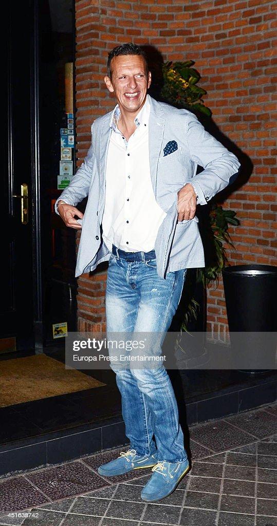 Matias Prats is seen on June 18, 2014 in Madrid, Spain.