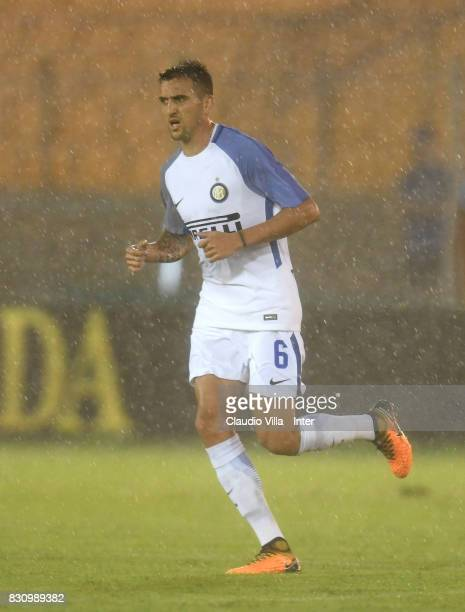 Matias Vecino of FC Internazionale in action during the PreSeason Friendly match between FC Internazionale and Real Betis at Stadio Via del Mare on...