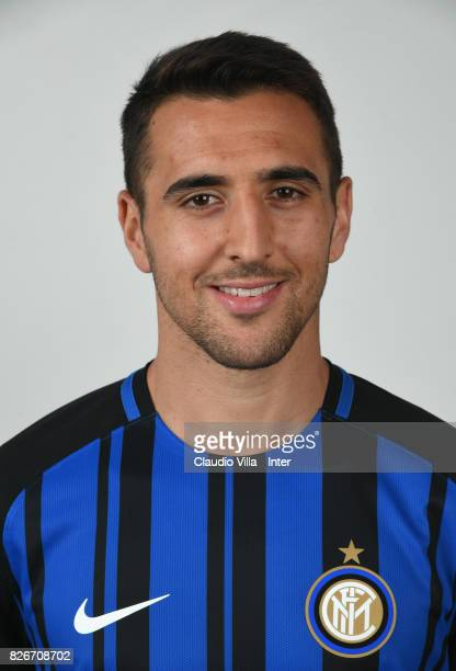 Matias Vecino of FC Internazionale poses during the official portrait session at Appiano Gentile on August 2 2017 in Como Italy