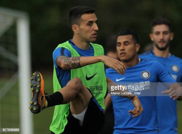 Matias Vecino of FC Internazionale trains during the FC Internazionale training session at the club's training ground Suning Training Center in...