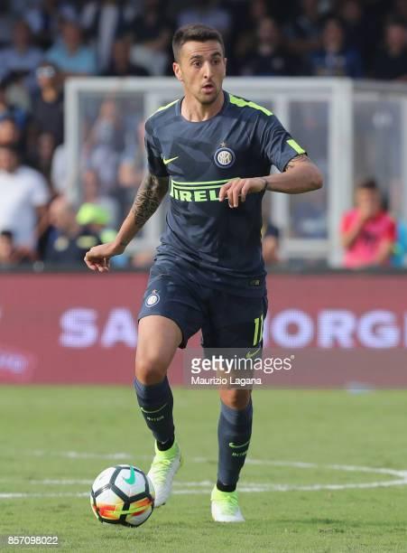 Matias Vecino of Inter during the Serie A match between Benevento Calcio and FC Internazionale at Stadio Ciro Vigorito on October 1 2017 in Benevento...